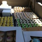 cupcakes in boxes