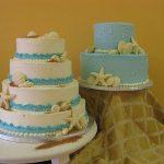 mini beach cakes
