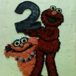 elmo and rosita 2 year old cake