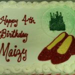 birthday cake for maizy